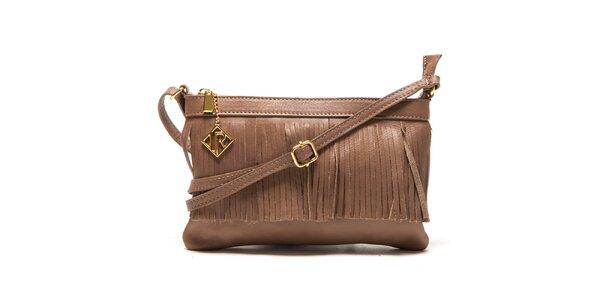 Dámska svetlo hnedá kabelka Isabella Rhea
