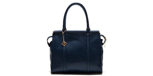 Dámska tmavomodrá kufríková kabelka Isabella Rhea