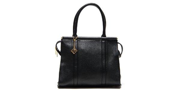 Dámska čierna kufríková kabelka Isabella Rhea