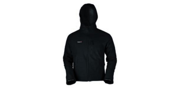 Pánska čierna softshellová bunda Izas