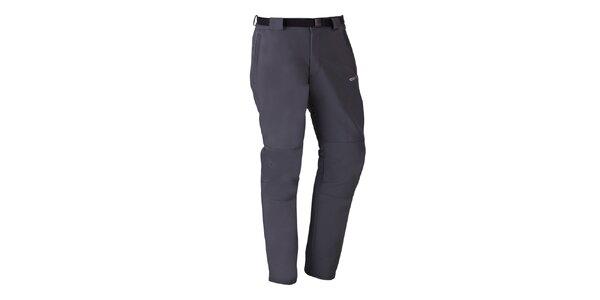Pánske šedé strečové nohavice Izas