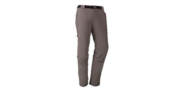 Pánske šedé funkčné nohavice Izas