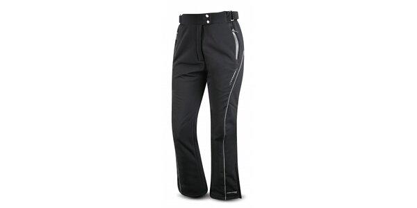 Dámske čierne softshellové lyžiarske nohavice Trimm