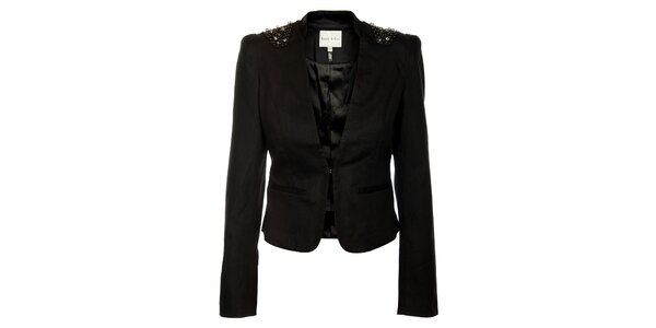 Dámske čierne sako Lucy Paris