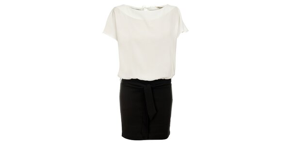 Dámske čierno-biele šaty Lucy Paris