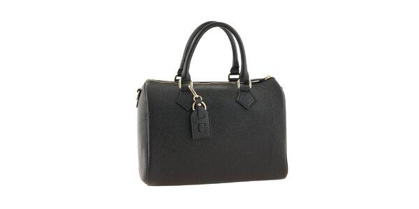 Dámska čierna kabelka na zips Classe regina