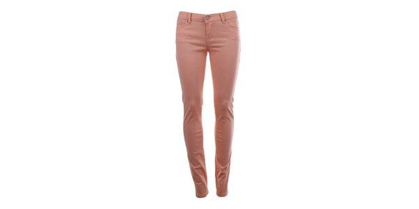 Dámske nohavice v ružovom odtieni Big Star