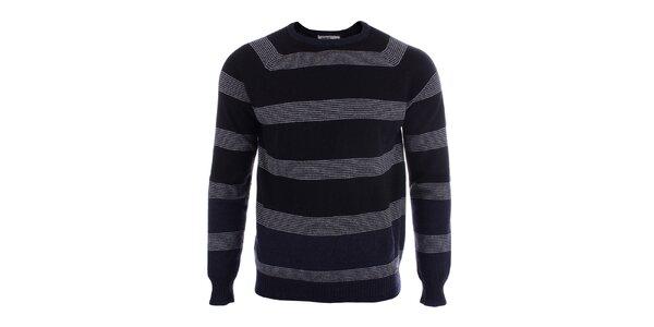 Pánsky vlnený sveter s prúžkami Big Star