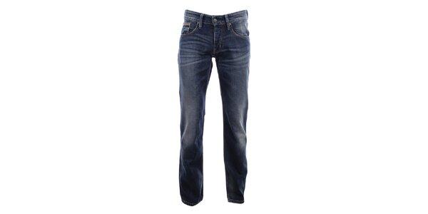 Pánske modré džínsy s šisovaním Big Star