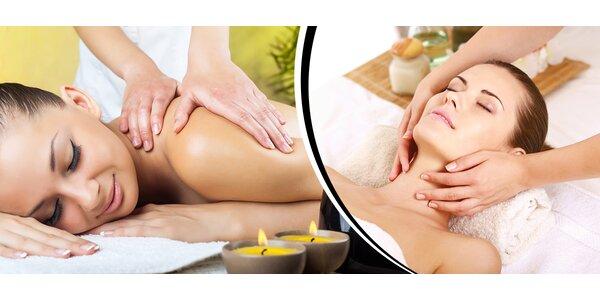 Klasická alebo športová masáž