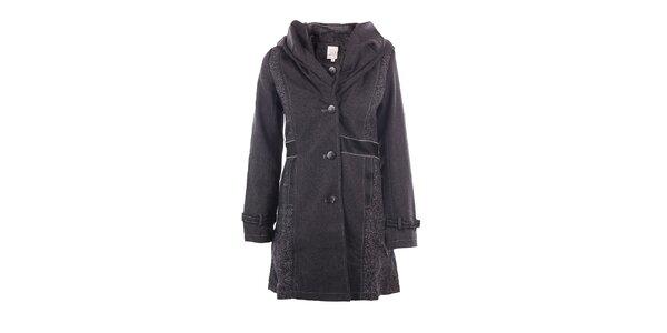 Dámsky antracitový kabát DY Dislay Design