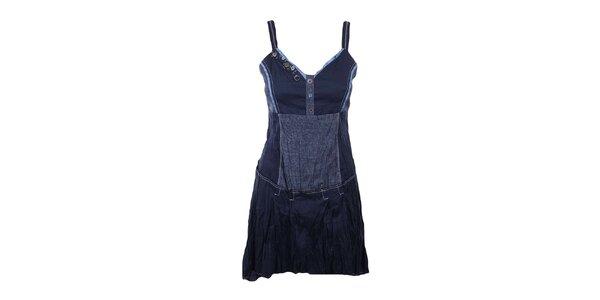 Dámske námornícky modré šaty Dislay DY Design