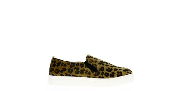 Dámske leopardie topánky Shoes and the Ćity