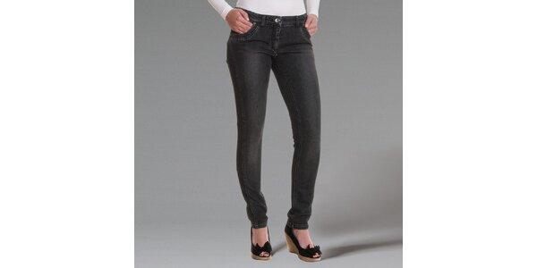 Dámske tmavo šedé džínsy Pietro Filipi