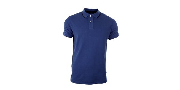 Pánske blankytno modré polo tričko Pietro Filipi