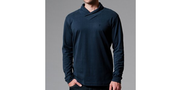 Pánske tmavé tričko s límčekom Pietro Filipi