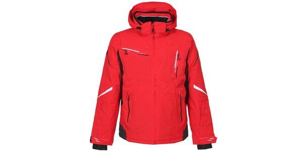 Pánska červená lyžiarska bunda Bergson