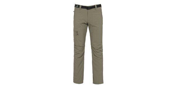 Pánske outdoorové nohavice s hrejivou podšívkou Bergson