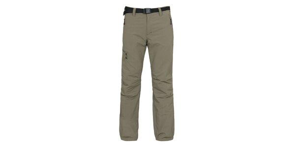 Pánske outdoorové nohavice s opaskom Bergson