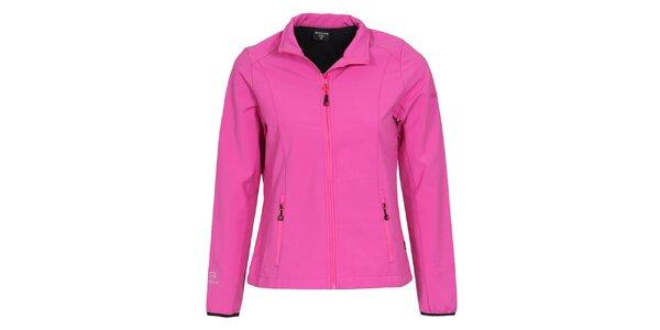 Dámska ružová softshellová bunda Bergson