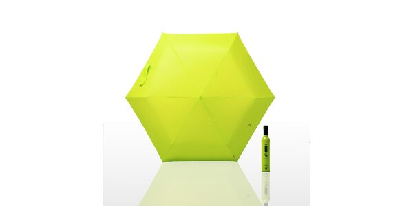 Dáždnik 0 % (menší) - čierny, oranžový, zelený/fosforový, modrý, ružový alebo fi