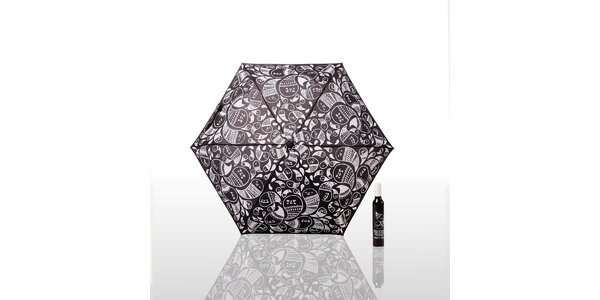 Dáždnik Gemma Correll - čierny