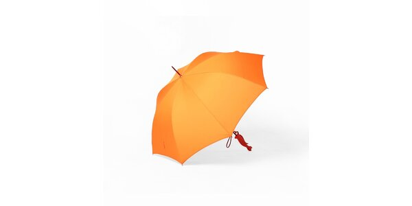 Dáždnik Silhouette cat - čierny, oranžový alebo Silhouette gentleman - čierny