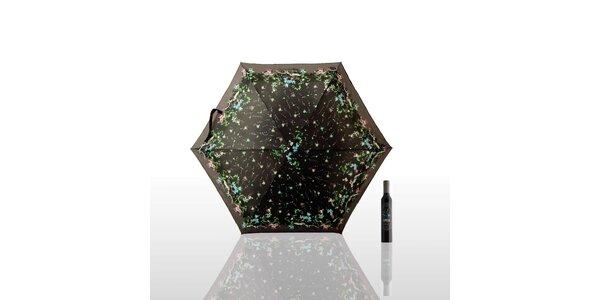 Dáždnik 0% Pattern - fialový alebo čierny