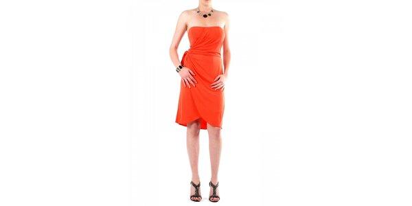 Dámske oranžové šaty Fifilles de Paris