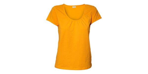 Dámske marhuľové tričko Northland s riasením