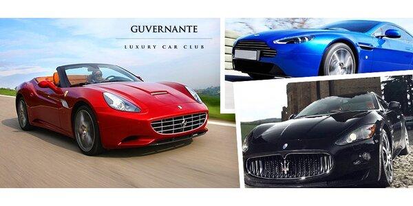 Prenájom luxusného automobilu