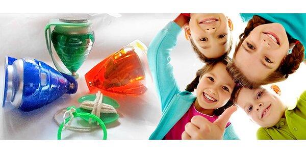 Peonza - hračka plná zručností