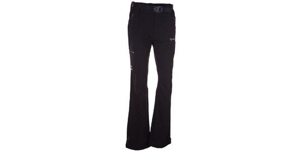 Pánske čierne softshellové nohavice Kilpi