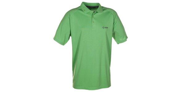 Pánske zelené funkčné polo tričko Kilpi