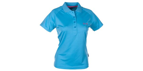 Dámske modré technické polo tričko Kilpi