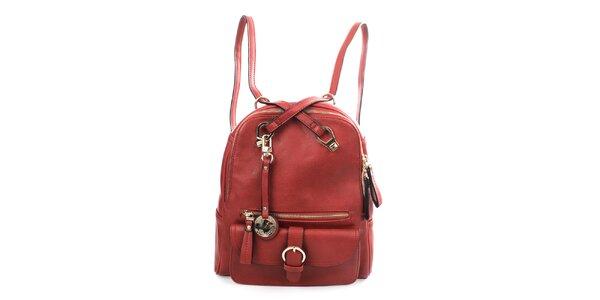 Dámsky červený batôžtek Bessie