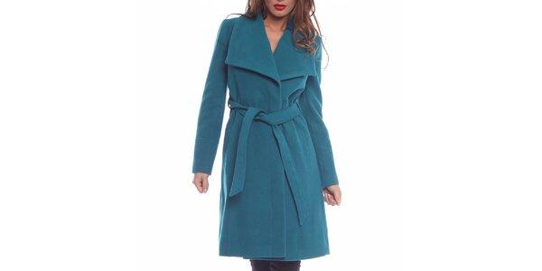 Dámsky kabát s výraznými klopami Vera Ravenna