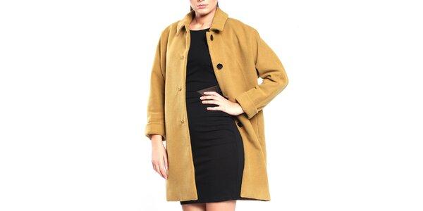 Dámsky khaki retro kabát Vera Ravenna