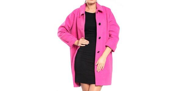 Dámsky ružový retro kabát Vera Ravenna