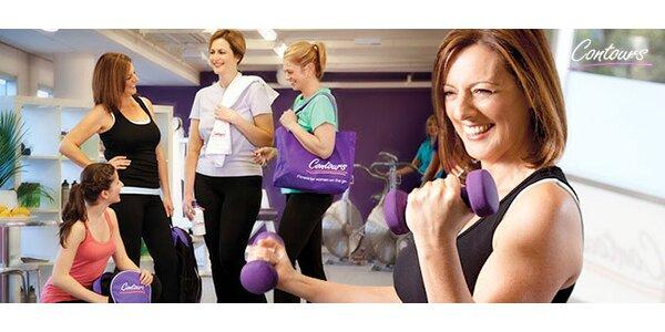 Mesačná permanentka do fitness Contours pre ženy