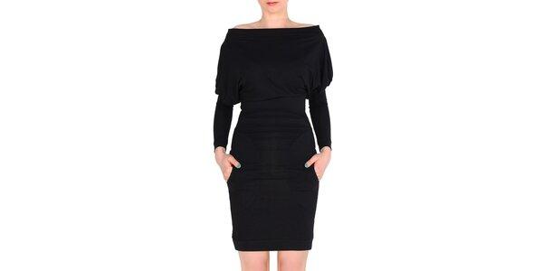 Dámske čierne šaty Yuliya Babich