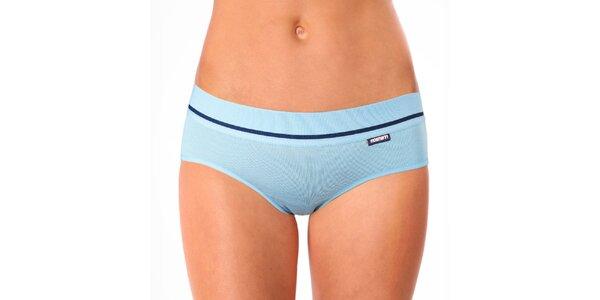 Dámske svetlo modré nohavičky Mosmann