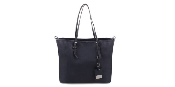 Dámska modrá kabelka s ramenným popruhom Bessie