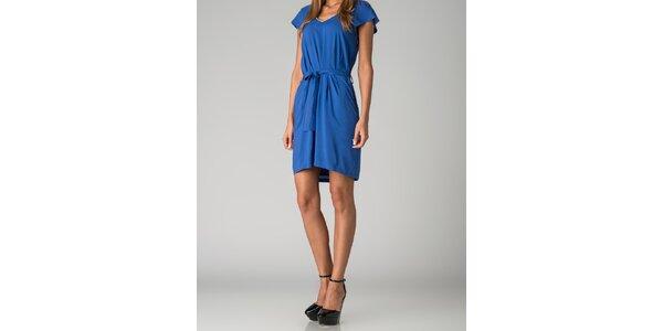 Dámske sýto modré šaty By Zoé
