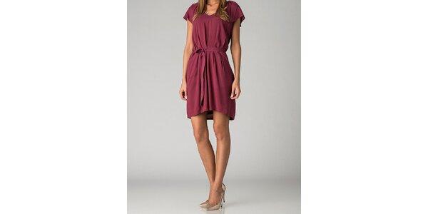 Dámske vínové šaty By Zoé