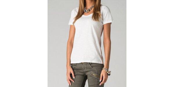 Dámske biele tričko By Zoé