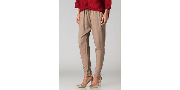 Dámske béžové nohavice By Zoé