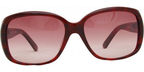Dámske červené okuliare Jil Sander