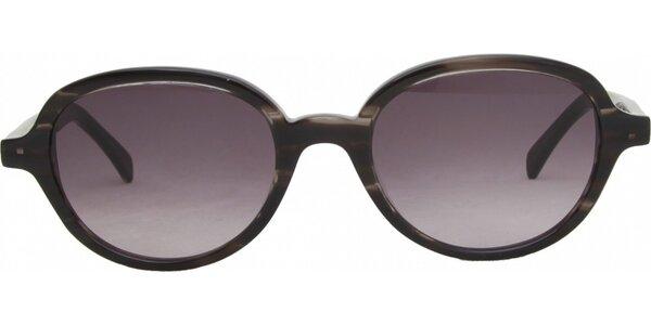Dámske oválne retro okuliare Jil Sander