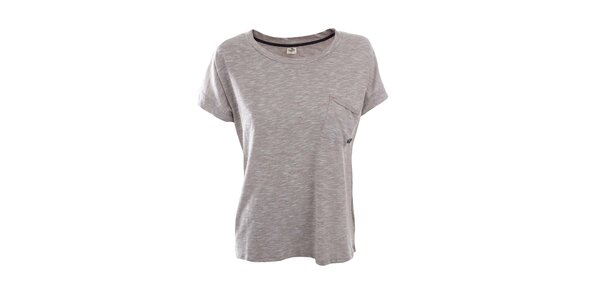Dámske žíhané tričko s náprsným vreckom Timeout